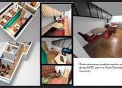 DiseÑo de muebles a medida presentacion renders realista