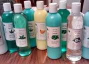 Shampoo, bálsamos cremas de masaje capilar cremas faciales de yerbas naturales