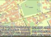 Mapa dominicano para celulares|tabletas con android, version offline. ver. 4.9