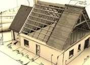 Construccion de casas, cabaÑas, piscinas. ademas servicios de electricidad, pintura, albaÑileria c