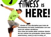 Zumba fitness clases particulares