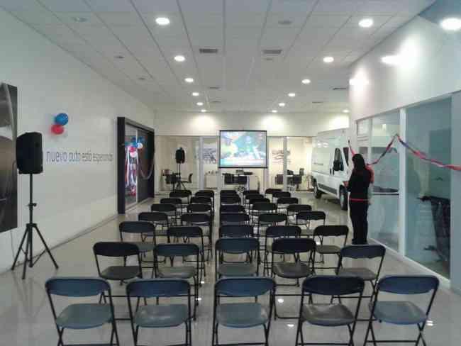 Amplificación  economica para eventos en Santiago